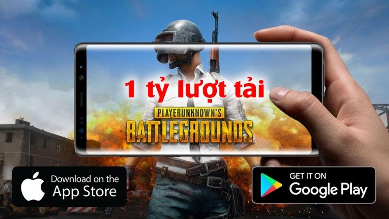 Tuy không tính Trung Quốc nhưng PUBG Mobile vẫn đạt hơn 1 tỷ lượt tải xuống trên toàn cầu, không biết bạn có đang chiến game này chứ?
