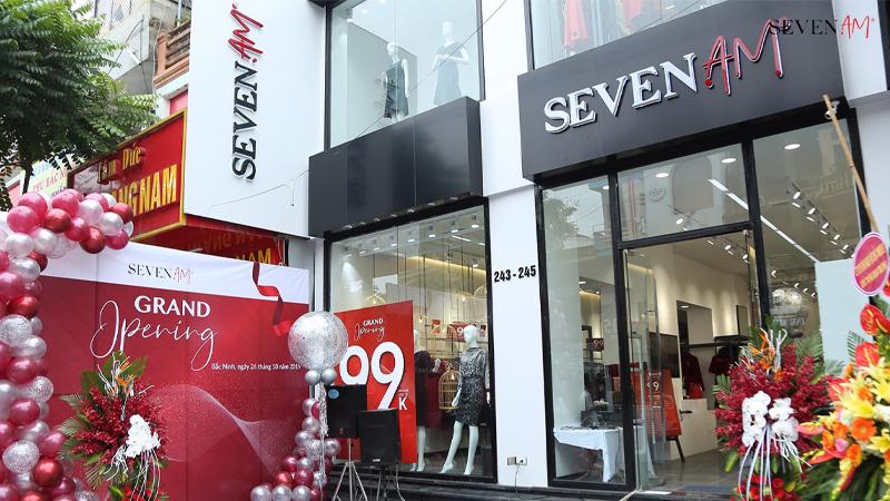 Thương hiệu thời trang Seven AM