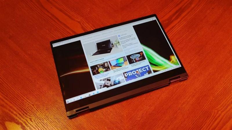 Hiệu suấtLenovo ThinkBook 14S Yoga đấp ứng tốt các nhu cầu cơ bản bản, hàng ngày của bạn.