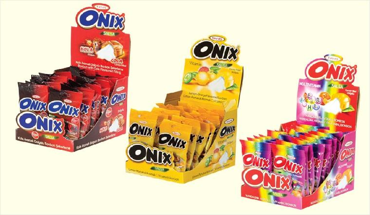 Thưởng thức hương vị ngọt ngào với các loại kẹo Onix