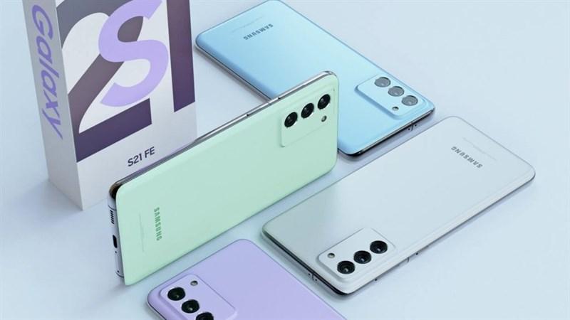 Samsung Galaxy S21 FE với camera selfie 32MP vừa rò rỉ thêm một màu sắc rất 'mát mẻ và tươi trẻ'