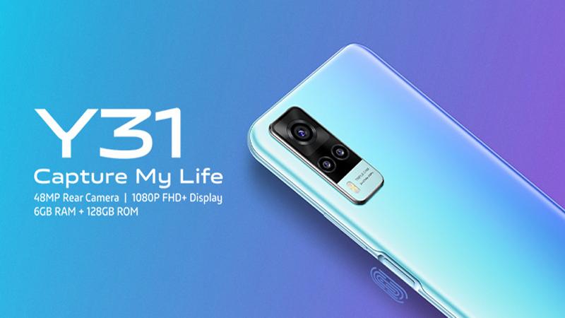 Vivo Y31s đang được trang bị Snapdragon 480 5G