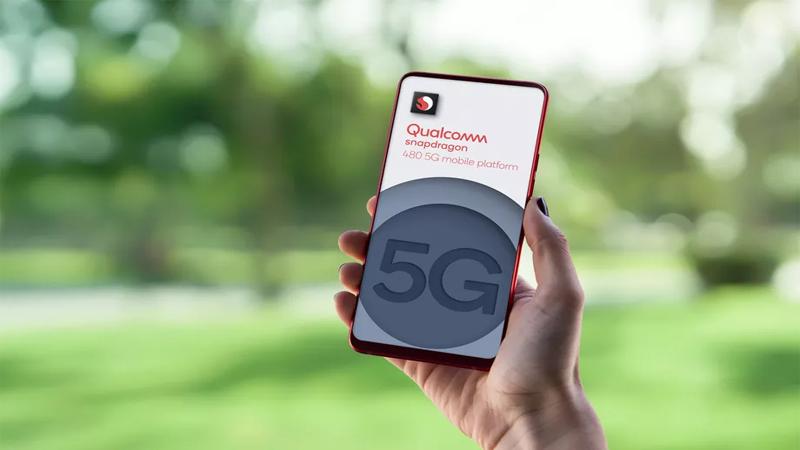 Snapdragon 480 5G là chip 4-series đầu tiên sử dụng quy trình 8nm và hỗ trợ 5G