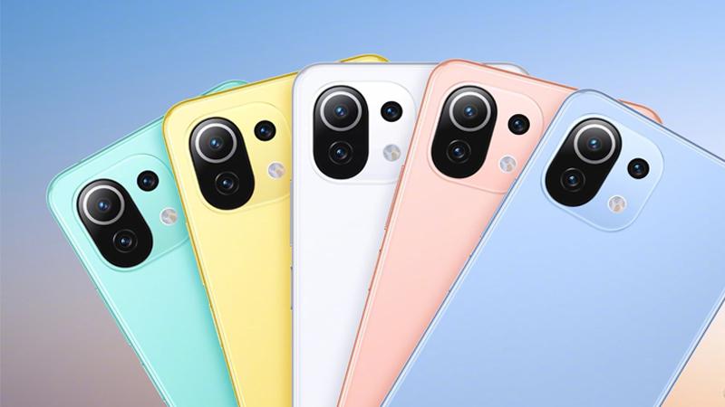 Xiaomi Mi 11 Lite được trang bị Snapdragon 780G 5G