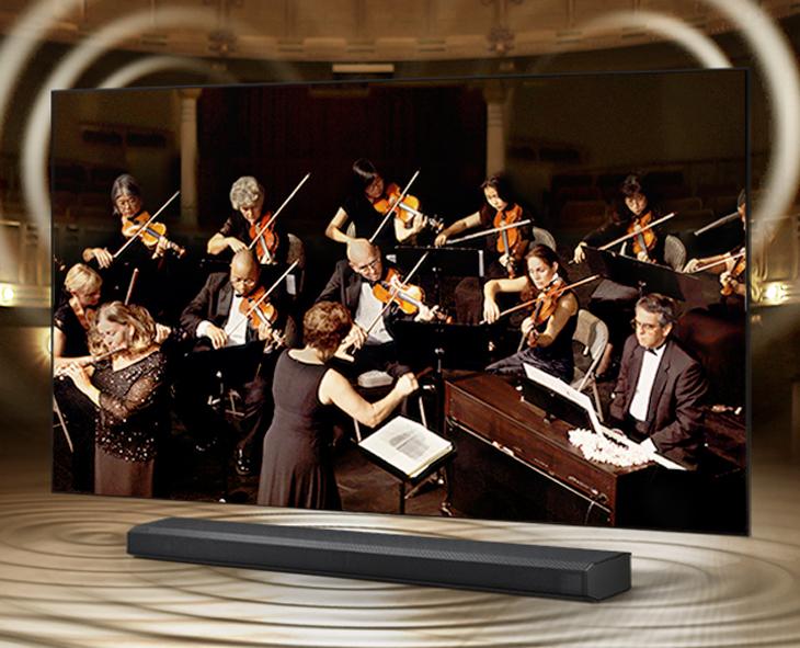 Tivi Samsung - Q -Symphony