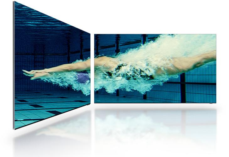 Tivi Samsung - Ultra Angle Viewing