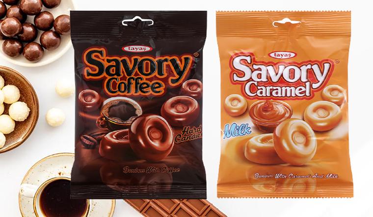 Cảm nhận hương vị ngọt ngào với các loại kẹo Savory
