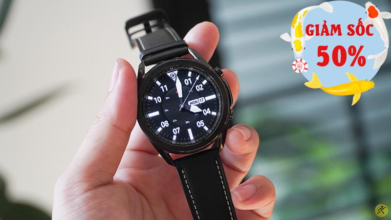 Ngày Cá Samsung tung ưu đãi bán phá giá: Galaxy Watch 3 giảm sốc 50%