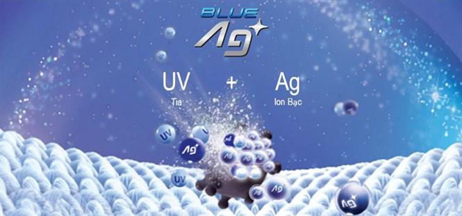 Công nghệ Blue Ag+ diệt khuẩn 99.99% không cần giặt nước nóng của Panasonic