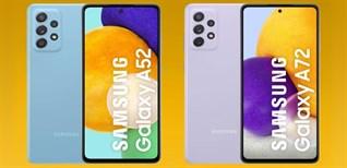 Tất tần tật thông tin về Samsung Galaxy A52, A72 cực hot vừa ra mắt