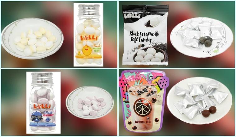 Thưởng thức hương vị kẹo ngọt ngào, đầy màu sắc với các loại kẹo Lolli