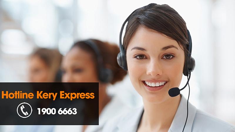 Tra cứu vận đơn bằng cách gọi đến tổng đài Kerry Express