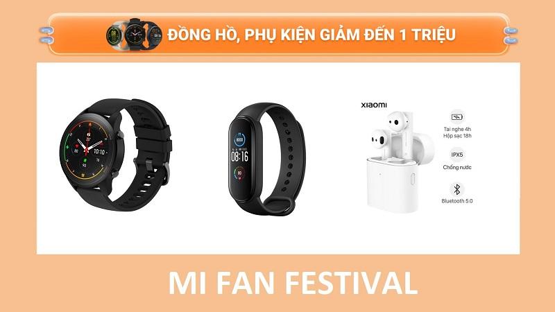 Phụ kiện Xiaomi giảm giá dịp Mi Fan Festival