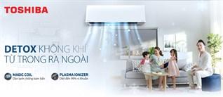 Detox không khí trên máy lạnh Toshiba là gì? Vì sao cần detox không khí?