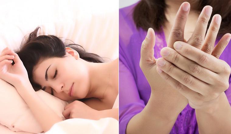 Nguyên nhân và cách phòng tránh hiện tượng tê tay khi ngủ