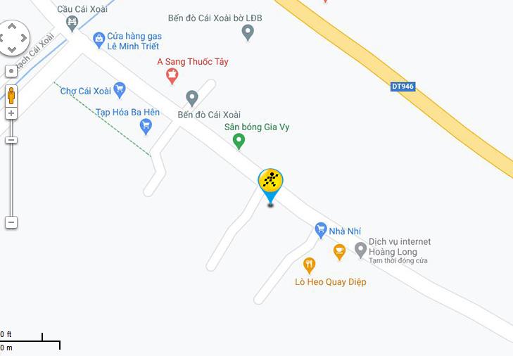 Bản đồ đến siêu thị Điện máy XANH tại Ấp Kiến Hưng 1, Xã Kiến Thành, Huyện Chợ Mới, Tỉnh An Giang