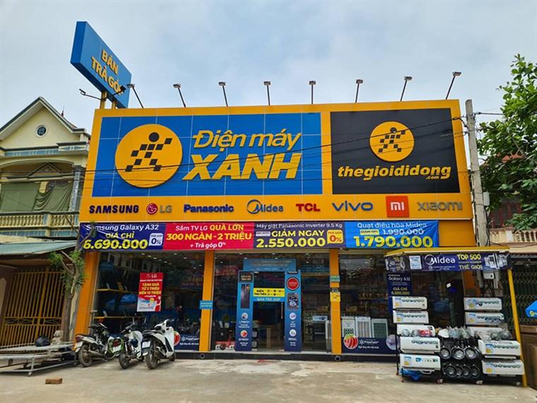Siêu thị điện máy xanh tại Thôn Đan Thê, Xã Sơn Đà, Huyện Ba Vì, Hà Nội