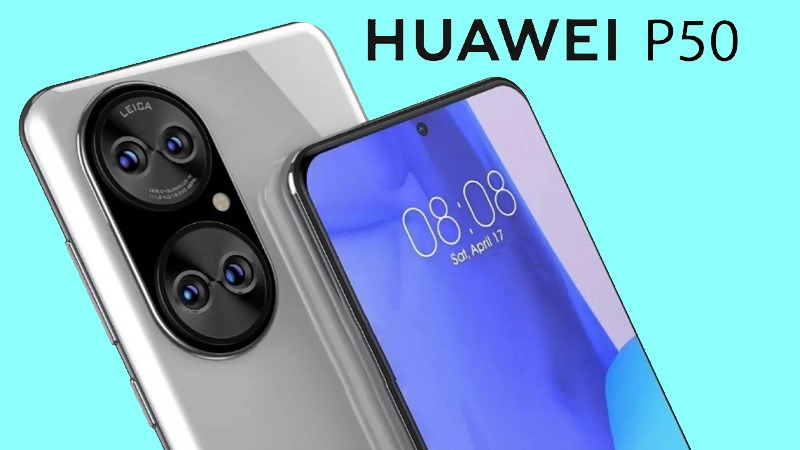 Huawei P50 lộ diện thiết kế