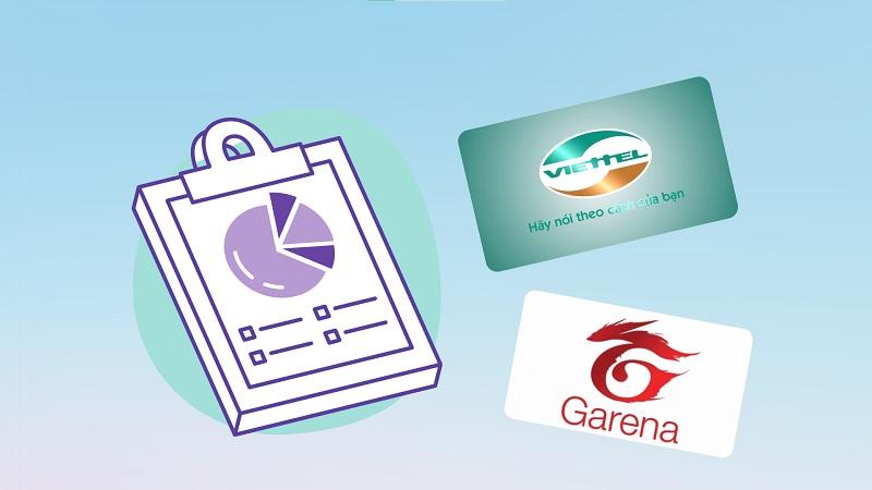Khảo sát trải nghiệm mua thẻ cào - thẻ game online tại TGDĐ