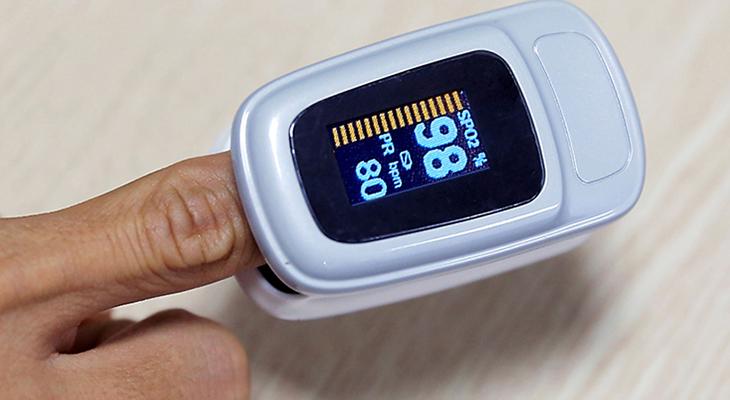 Máy đo nồng độ oxi