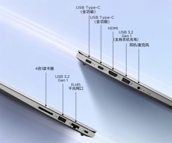 Các cổng kết nối trên Lenovo ThinkBook 14 2021 Ryzen Edition