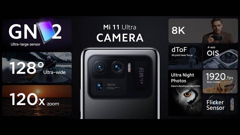 Thông số camera Mi 11 Ultra
