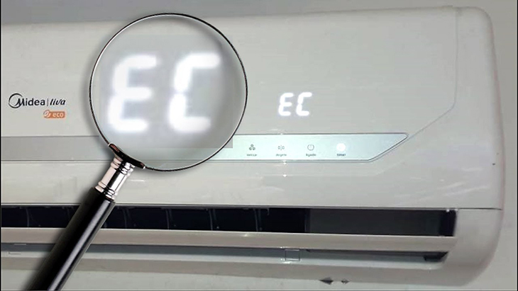 Máy lạnh báo lỗi