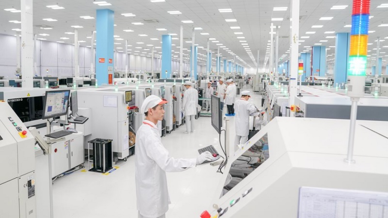 Việt Nam sản xuất 54 triệu điện thoại, 4.458 chiếc TV trong quý 1/2021