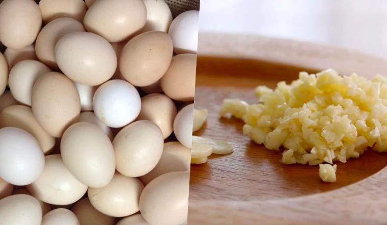Thực hư chuyện trứng kị với tỏi, ăn chung sẽ gây ngộ độc