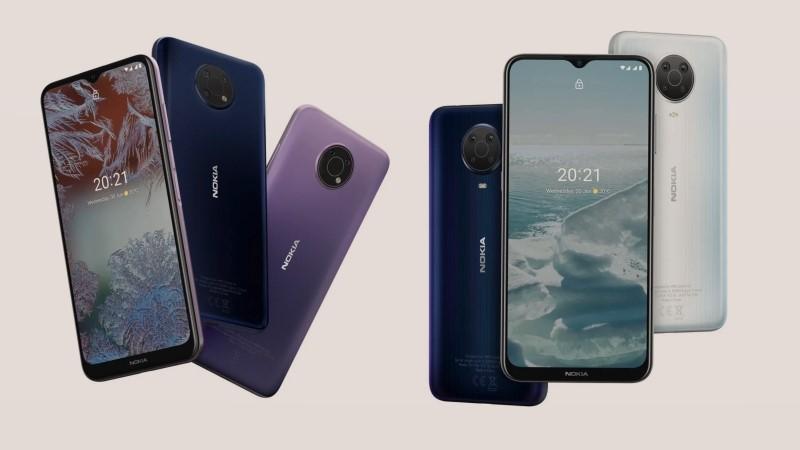 Nokia G10 và Nokia G20 ra mắt: Pin 5.050mAh dùng đến 3 ngày, nâng cấp phần mềm dài hạn, giá từ 3.8 triệu đồng