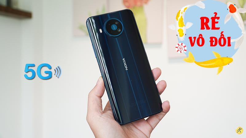 Nokia 8.3 5G cũ đang hạ giá rẻ vô đối, muốn săn deal hời chớ bỏ qua
