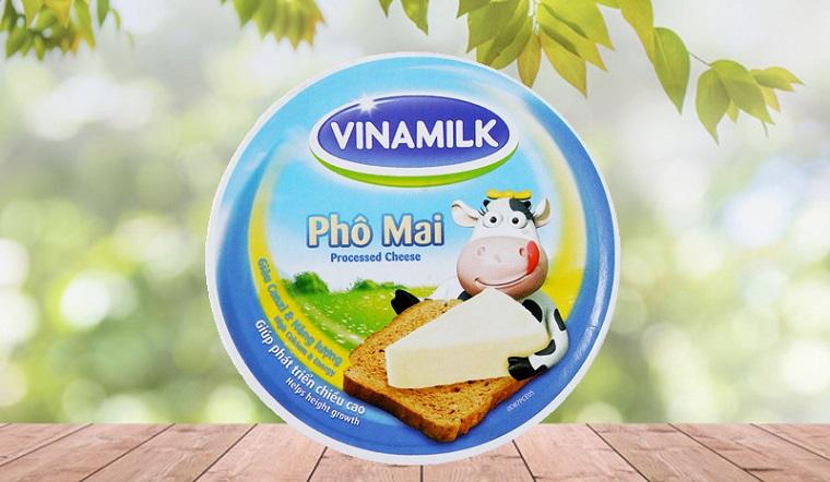 Bổ sung dưỡng chất từ phô mai ăn liền Vinamilk giúp bé phát triển khỏe mạnh