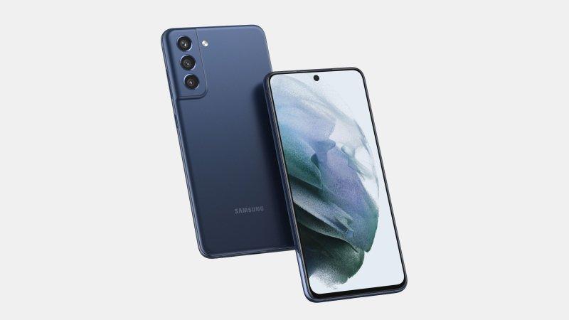 Samsung Galaxy S21 FE phiên bản màu Cloud Navy lộ ảnh render, thiết kế quen thuộc nhưng có điểm đặc biệt hơn Galaxy S21 5G