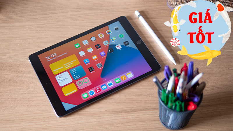 Mẫu iPad có giá rẻ nhất đang sale cực đậm, sắm đảm bảo không sai