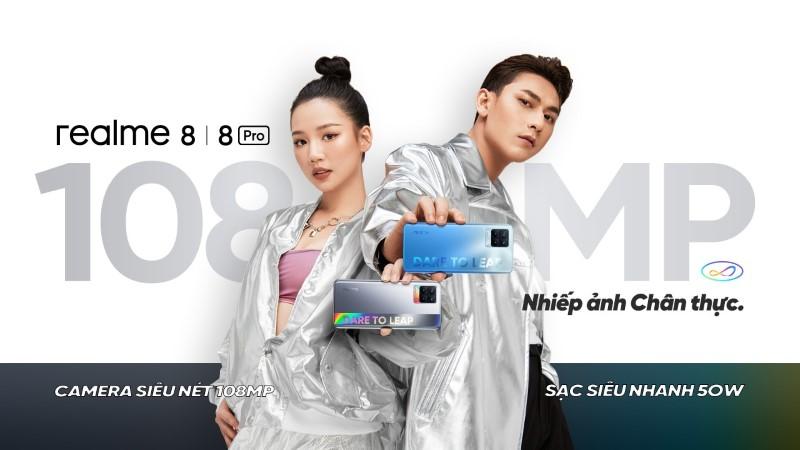 Realme 8 và 8 Pro được ấn định ngày ra mắt tại VN
