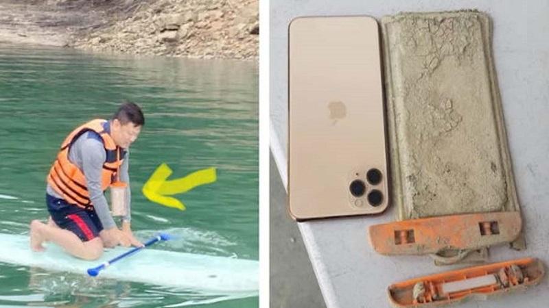 iPhone 11 Pro Max được tìm thấy sau một năm ở dưới hồ tại Đài Loan