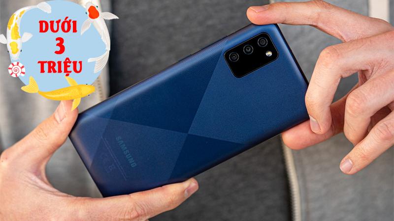 3 smartphone Samsung dưới 3 triệu, sở hữu pin lớn đang giảm sốc nhất