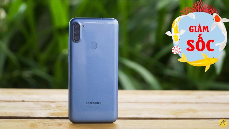 3 smartphone Galaxy A dưới 3 triệu giảm sốc