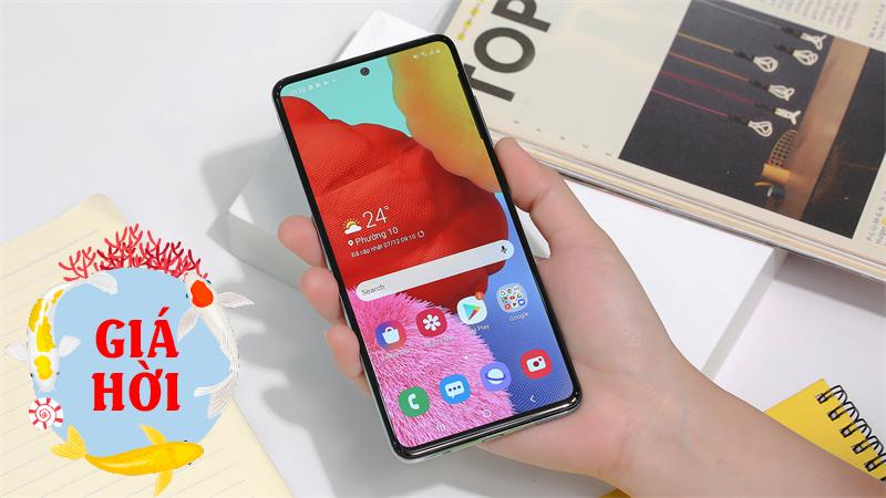 Vừa lên đời One UI 3.1 với nhiều tính năng mới, Galaxy A51 còn đang được giảm giá hấp dẫn, quá đáng sắm luôn