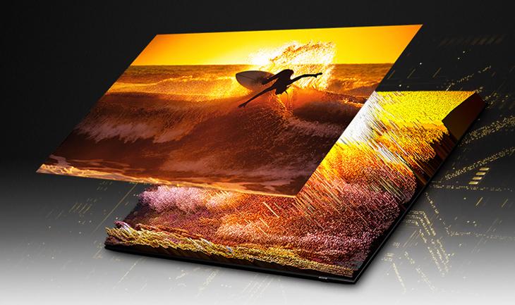 Các công nghệ hình ảnh tivi Samsung - Công nghệ Quantum Matrix Technology Pro và đèn nền Micro Full Array 32x/64x