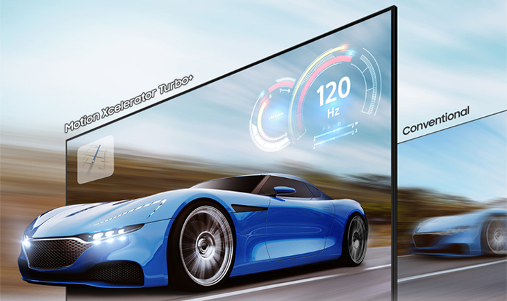 Các công nghệ hình ảnh tivi Samsung 2021 - Công nghệ Motion Xcelerator Turbo+