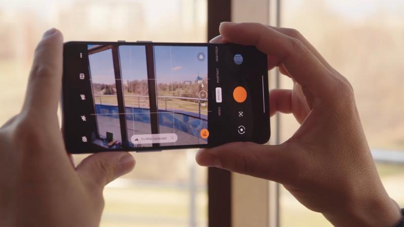 Giao diện camera của OnePlus 9 được tùy chỉnh tương đối giống với giao diện của những chiếc camera đến từ Hasselblad. (Nguồn: GSMArena).
