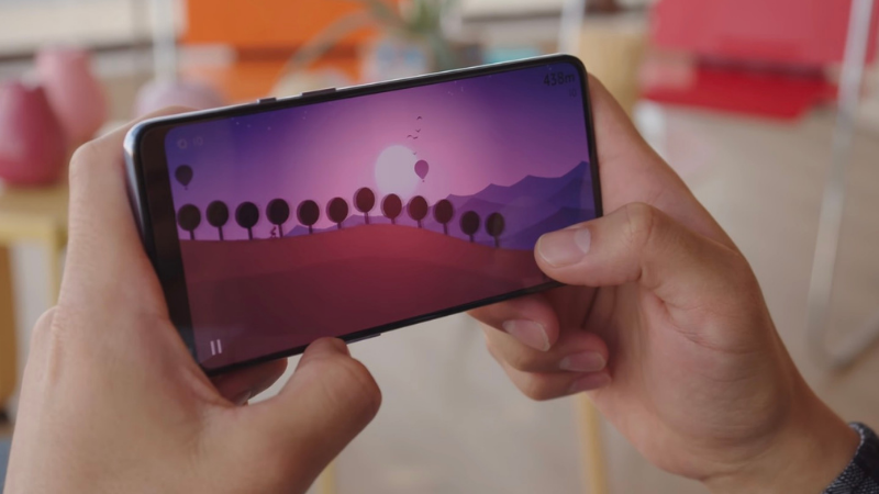 Màn hình 120 Hz trên OnePlus 9 sẽ mang đến trải nghiệm chơi game tuyệt vời. (Nguồn: GSMArena).