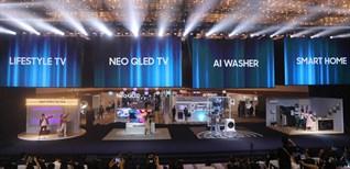 Samsung ra mắt các sản phẩm TV mới nhất tại Việt Nam trong sự kiện Tuyệt tác công nghệ 2021