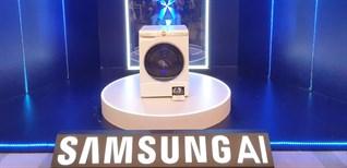Samsung ra mắt máy giặt AI thế hệ mới, giá từ 15,5 triệu