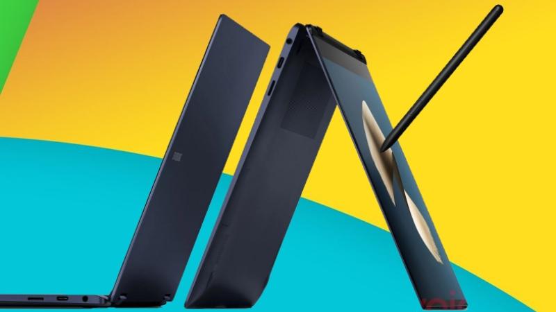 Laptop lai 2 trong 1 Samsung Galaxy Book Pro 360 lộ ảnh render mọi góc cạnh, có màn hình cảm ứng và hỗ trợ bút S Pen