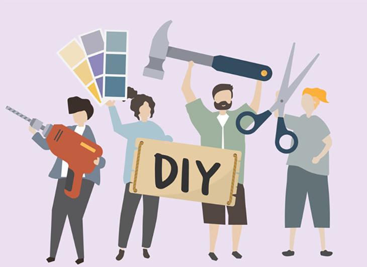 DIY trở thành xu thế ở nhiều nơi trên thế giới