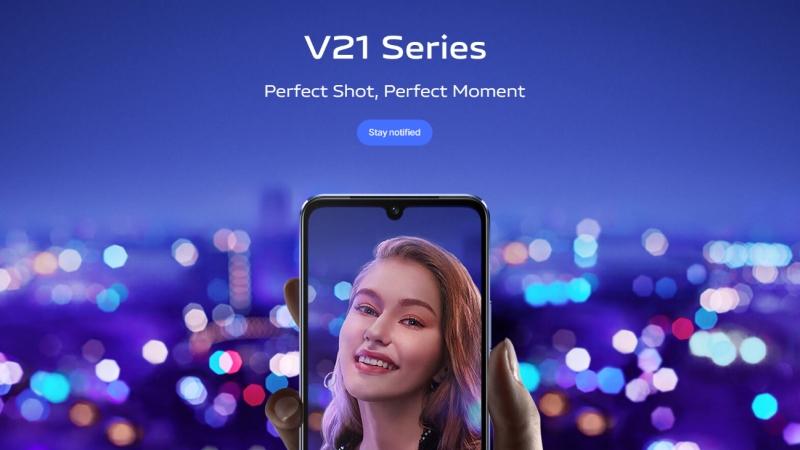 Vivo V21 và Vivo V21e được ấn định ngày ra mắt, camera chính phía sau 64MP, camera selfie 44MP hỗ trợ OIS và đèn LED flash kép