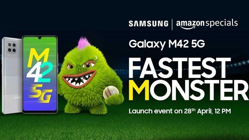 Galaxy M42 5G chính thức được ấn định ngày ra mắt