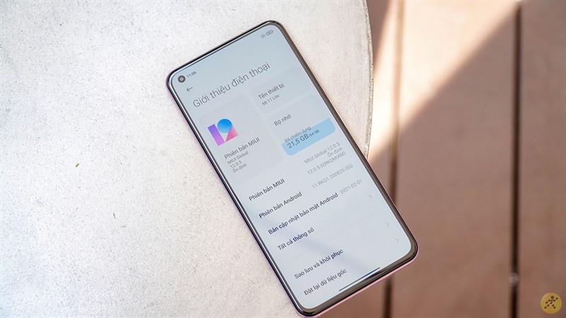 Configuration of Xiaomi Mi 11 Lite